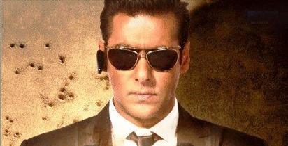 Salman Khan Wearing Goggles In Bodyguard Movie