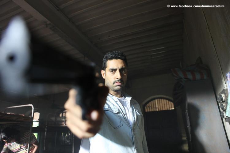 Abhishek Bachchan as ACP Vishnu Kamath in Dum Maro Dum