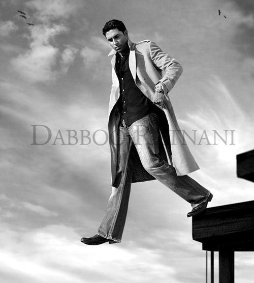 Abhishek Bachchan In Dabboo Ratnan Calendar