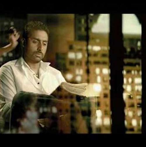 Abhishek Bachchan Lux Soap Ad Still