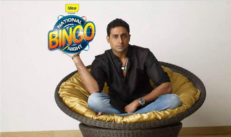 Abhishek Bachchan National Bingo Night Still