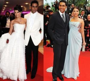 Aishwarya and Abhishek at Cannes Dinner