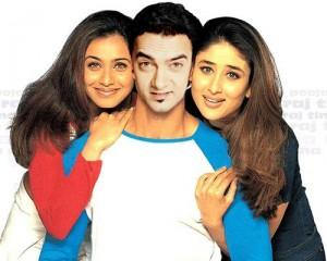 Aamir,Rani and Kareena Cute Photo