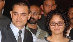 Best Couple Aamir and Kiran Photo