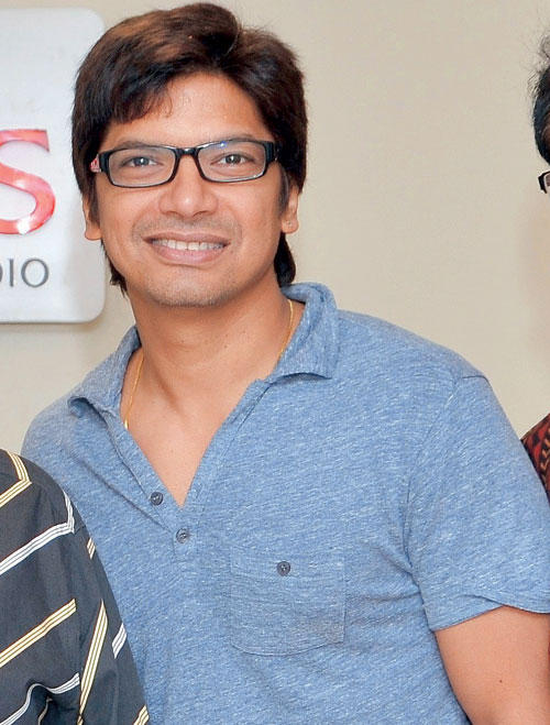 Shaan Flashes A Sweet Smile