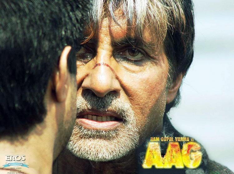 Amitabh Bachchan Angry Look in AAG
