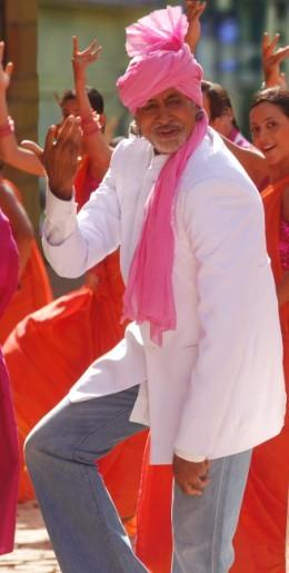 Amitabh Bachchan Dance Still In Aladin