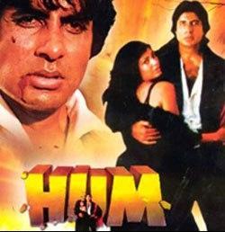 Amitabh Bachchan in Hum