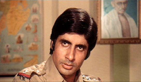 Amitabh Bachchan  Police Dress Pic in Zanjeer