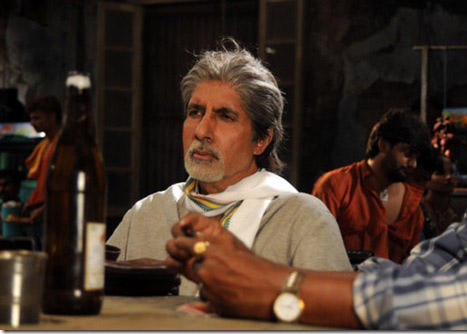 Amitabh Bachchan in Teen Patti