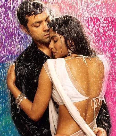 Bobby Deol and Priyanka Wet Swim Still