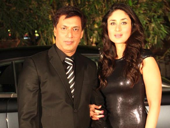 Kareena With Madhur Glamour Look Pics