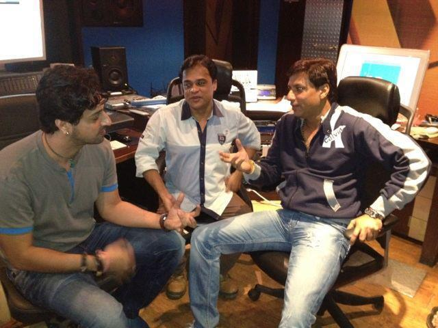 Madhur And Salim In Heroine For Music Recording