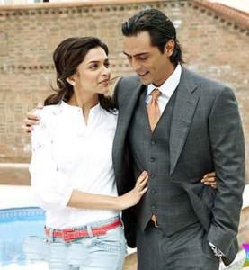 Arjun Rampal and Deepika In Housefull