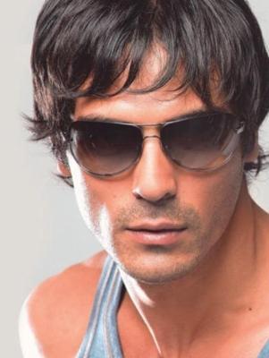 Arjun Rampal Hot Pic Wearing Goggles