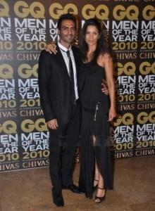 Arjun Rampal With Model Wife Meher Bhasin