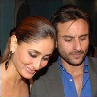 Kareena Kapoor Happy With Saif Ali Khan