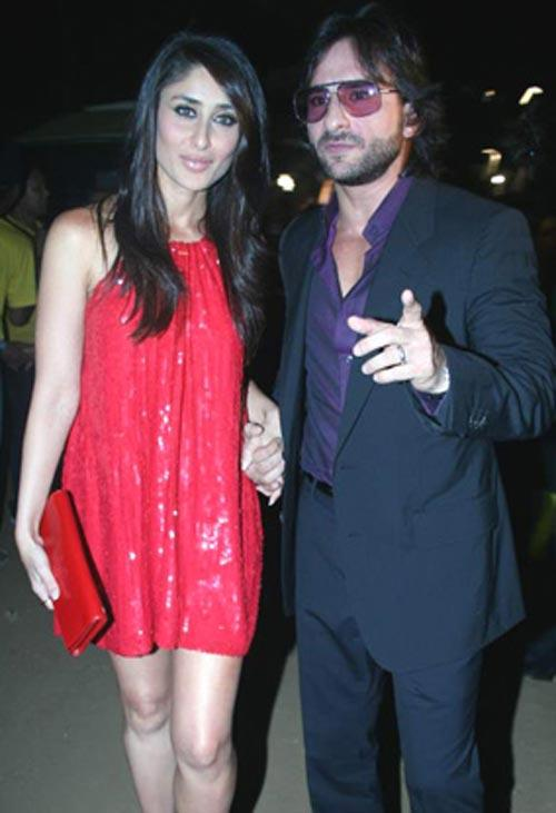 Saif Ali Khan And Kareena Kapoor Cute Pics