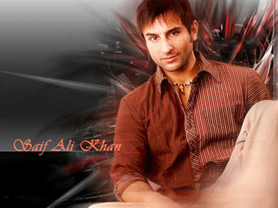 Saif Ali Khan Dazzling Face Look Photo