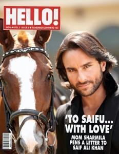 Saif Ali Khan For Hello! Magazine Photoshoot