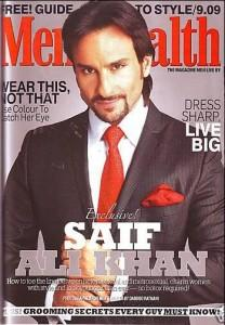 Saif Ali Khan Graces Men's Health Magazine