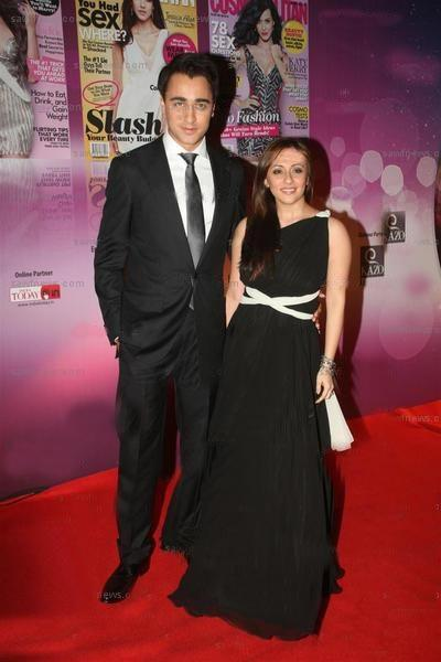Imran and Avantika Delighted in Co-ordinated Black and White Dress