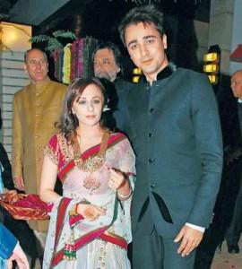 Imran Khan and Avantika Malik Reception Photo