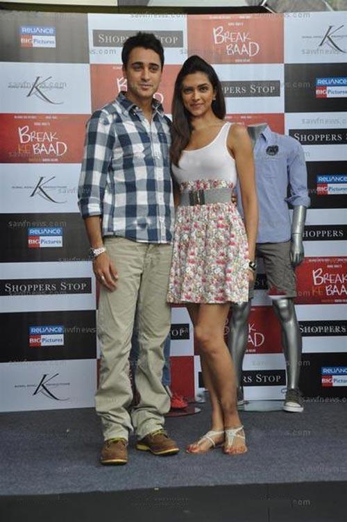 Imran Khan and Deepika Latest Pic