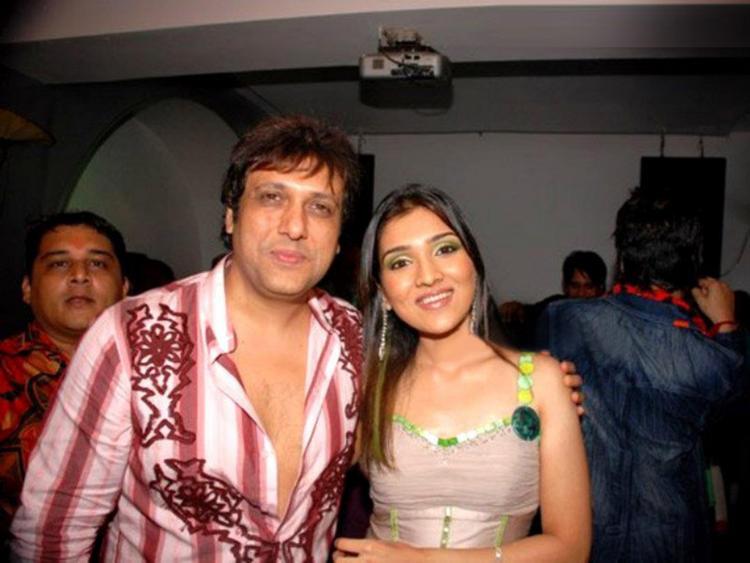 Govinda with Daughter Narmada
