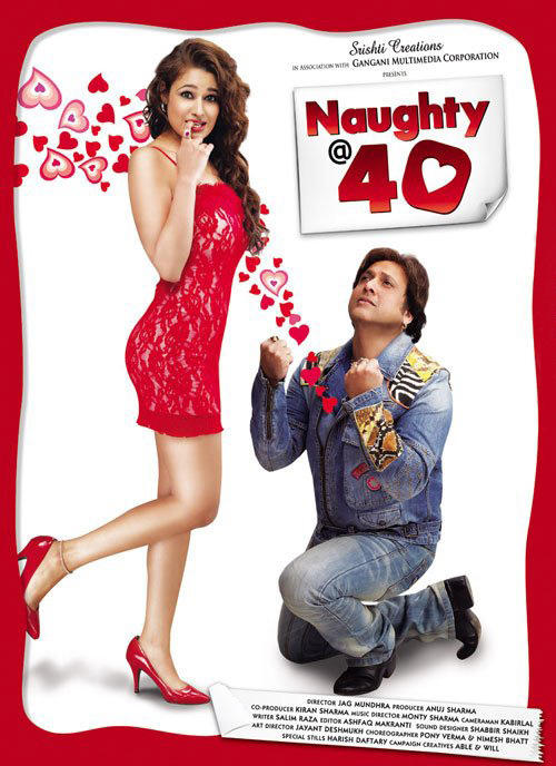 Govinda Naughty at 40 Poster