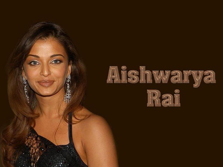 Shocking Babe Aishwarya Rai Cool Wallpaper