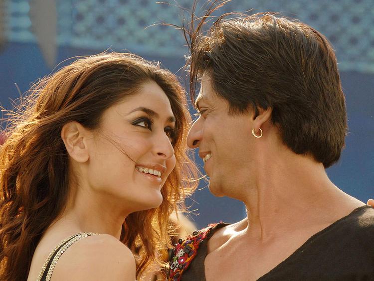Kareena Kapoor and Sharukh Khan Marjani Song Still