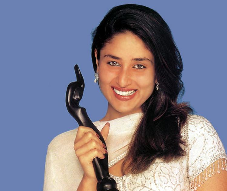 Kareena Kapoor Smiley Look With Awards