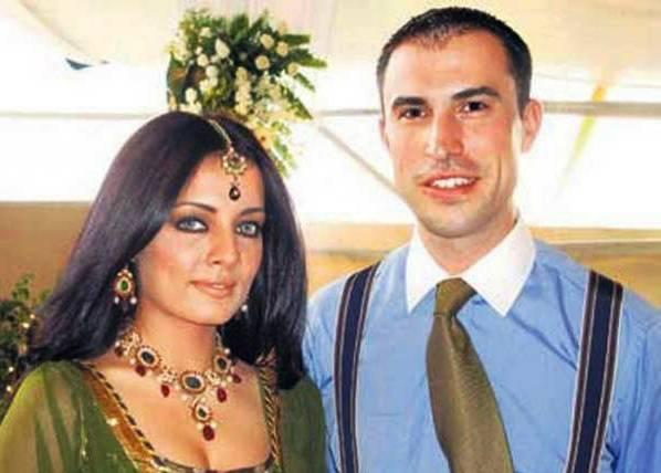 Peter Haag and Celina Jaitley Poses To Photo Shoot