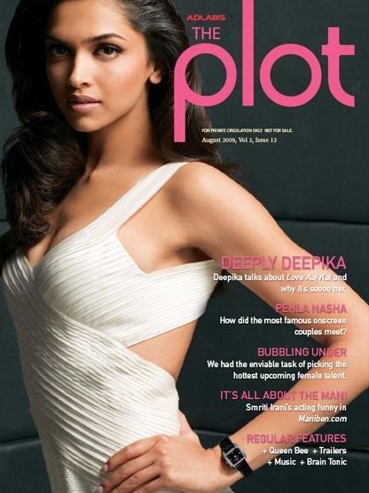 Deepika Padukone The Plot Still