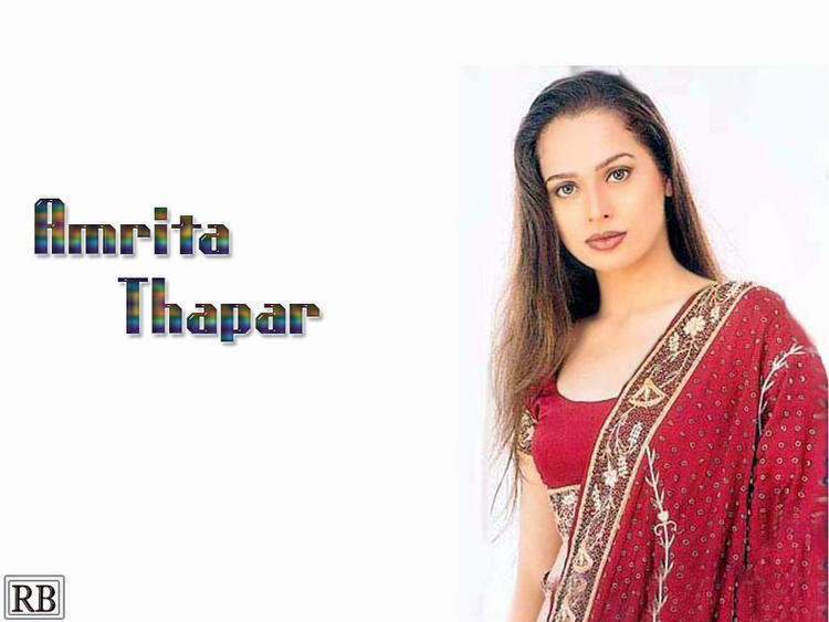 Amrita Thapar Hot Model Wallpaper