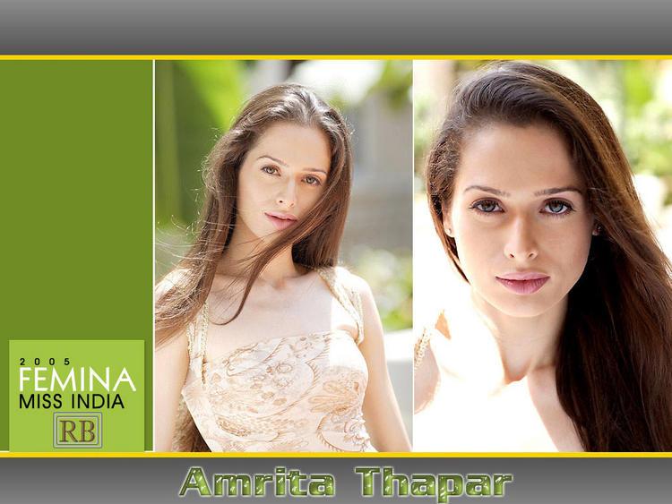 Amrita Thapar Latest Hot Stunning Look Wallpaper