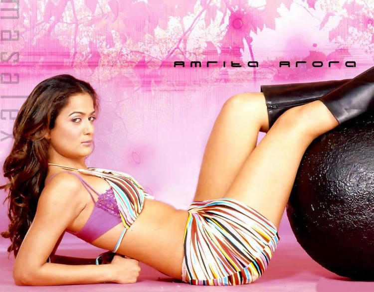Amrita Arora Sexy Pose Photo Shoot