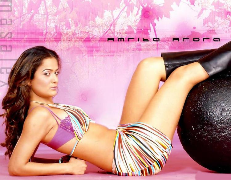 Amrita Arora Sexy Pose Photo Shoot