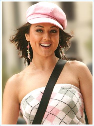 Preity Zinta Cute Looks In Salaam Namaste