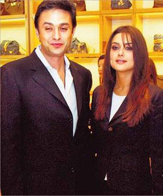 Preity Zinta With Ness Wadia Nice Photo