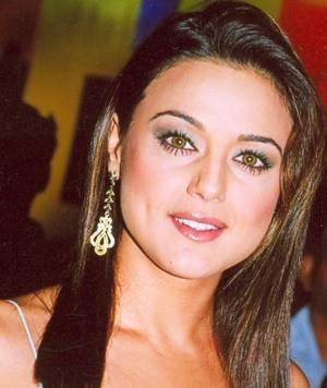Preity Zinta Stunning Face Look Pics