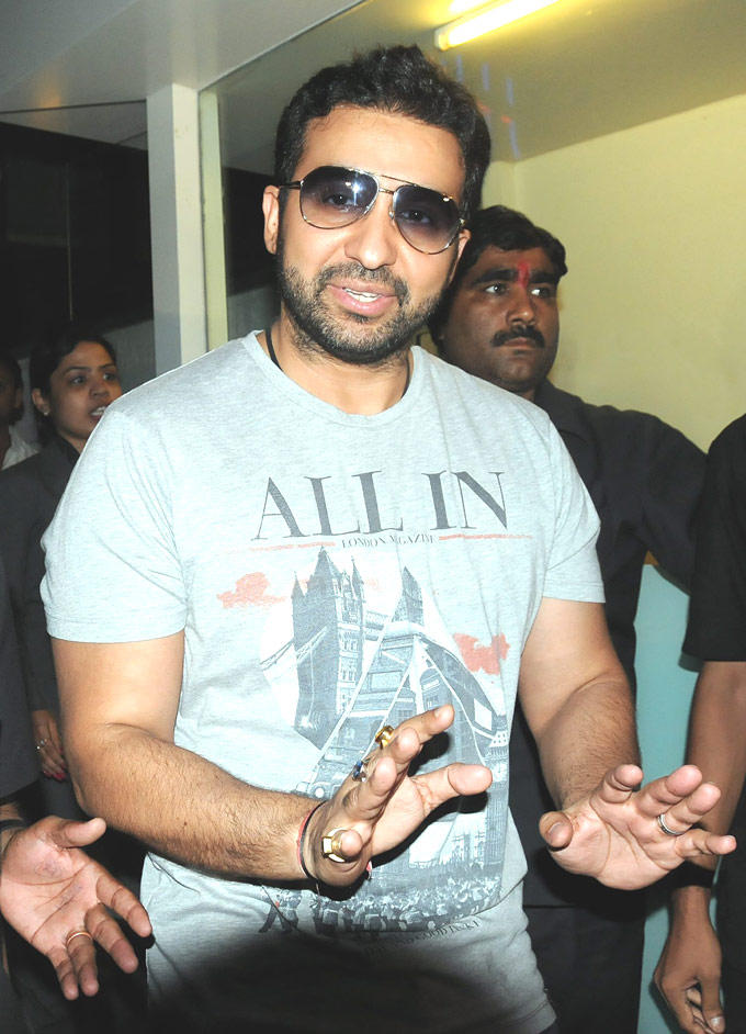 Raj Kundra At Hinduja Healthcare
