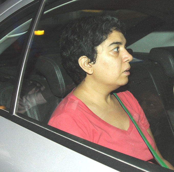 Reena Dutta In A Car