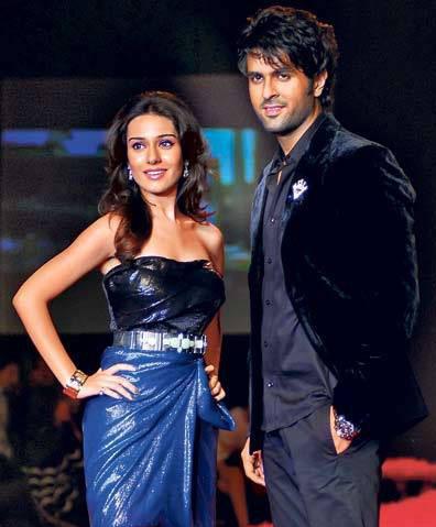 Amrita Rao and Harman Ramp Walk Still