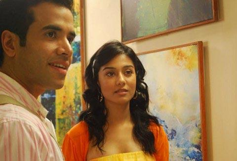 Amrita Rao and Tushar in Love U Mr Kalakaar Movie