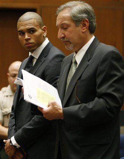 Chris Brown Hot Look Pic