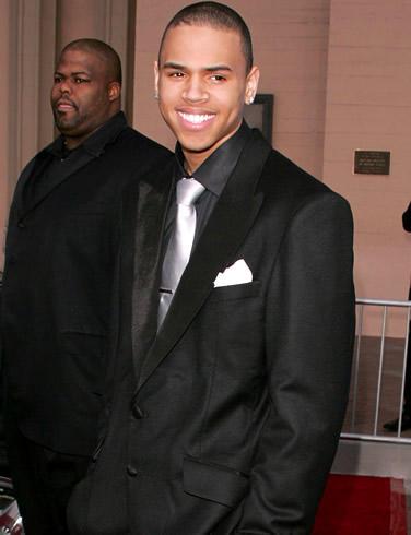 Chris Brown Sweet Smile Pic In Black Blazer