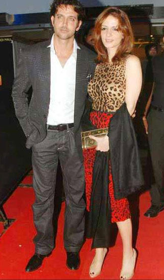 Hrithik Roshan and Suzanne Gorgeous Photo