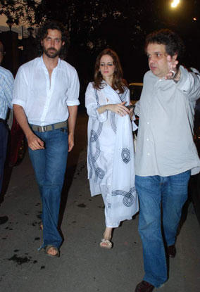 Hrithik Roshan and Suzanne Photo